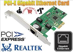 SMART GEAR 4 U PCI-E PCI EXPRESS 10/100/1000 Mbps Gigabit FAST Ethernet Lan NETWORK Card Realtek RTL8111C ADAPTER B No description (Barcode EAN = 5697577360283). http://www.comparestoreprices.co.uk/december-2016-6/smart-gear-4-u-pci-e-pci-express-10-100-1000-mbps-gigabit-fast-ethernet-lan-network-card-realtek-rtl8111c-adapter-b.asp