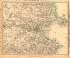 map of dublin Dublin Map, Tourist Map, Old Photos, Vintage World Maps, Ireland, Antique, Old Pictures, Antique Photos, Vintage Photos