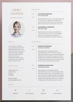 Modern resume template 120430 is designed to showcase your skills and experience in a sleek way. The template is always easy to fill out. Save time and effort. If you are not satisfied with the… Resume Icons, Resume Layout, Job Resume, Resume Format, Best Resume, Cv Format, Infographic Resume, Student Resume, Resume Tips