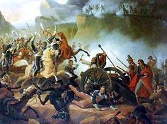 Battle of Somosierra by January Suchodolski
