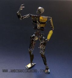 Watch Parts Figure Taus Model 189 'Rusty' by amechanicalmind