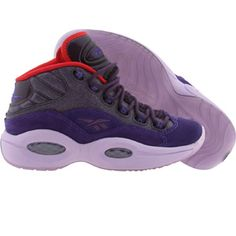 Reebok Big Kids Question Mid CYTC (purple / red / white) V61600 - $89.99