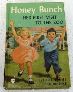 honey bunch books | Vintage 1930s Honey Bunch Her First Visit to by ...