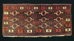 M. Tehrani Yomut/ Karadashli Torba 46 x 105 cm 19th Century
