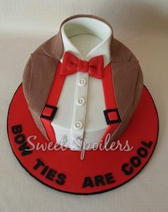Bow ties, Doctor Who, Eleven cake