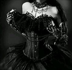 Top Gothic Fashion Tips To Keep You In Style. As trends change, and you age, be willing to alter your style so that you can always look your best. Consistently using good gothic fashion sense can help Gothic Corset, Gothic Dress, Gothic Outfits, Gothic Lolita, Lace Corset, Choker Lace, Gothic Gowns, Victorian Dresses, Gothic Clothing