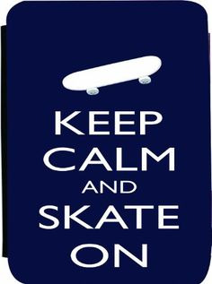 Rikki KnightTM Keep Calm and Skate On - Blue Color Kindle® FireTM Notebook Case Black Faux Leather - Unisex (Not for Kindle Fire HD) by Rikki Knight. $48.99. The Kindle® FireTM Notebook Case made out of Black Faux Leather is the perfect accessory to protect your Kindle® FireTM in Style providing the ultimate protection your Kindle® FireTM needs The image is vibrant and professionally printed - The Kindle® FireTM Case is truly the perfect gift for yourself or yo...