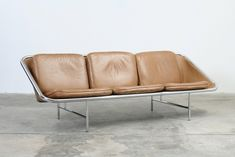 1964_ 'Sling' Three-Seater Sofa by George Nelson and Manufactured by Herman Miller