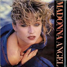 """For Sale -Madonna Angel - Glossy Sleeve + Paper Label UK  7"""" vinyl single (7 inch record)- See this and 250,000 other rare and vintage records & CDs at http://eil.com/"""