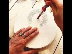 VIDEO: Halos and ornaments (Natalia Pustylnik, master - class, Russia) Gold Leaf Art, Orthodox Christianity, Religious Art, Byzantine, Master Class, Ikon, Style Icons, Halo, Tools
