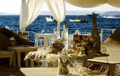 Phi Beach - Restaurant - Baia Sardinia - Costa Smeralda