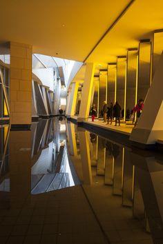 Paris, Jardin d'acclimatation/ Frank Gehry's Fondation Louis Vuitton / niveau bas / Images by Danica O. Kus