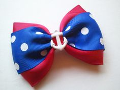 Hold Fast Rockabilly Baby Anchor Bow by GravesideLooks on Etsy, $5.00