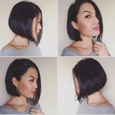 91 best wedding hairstyles for short and long hair 2018 - Hairstyles Trends Hairdos For Short Hair, Wavy Bob Hairstyles, Short Wavy Hair, Trendy Hairstyles, Wedding Hairstyles, Short Hair Styles, Bob Haircuts, Braid Hairstyles, Girl Hairstyles