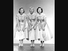 Hearts Made Of Stone   The Fontane Sisters   1955  This was a dancing favorite for us 11 and 12 yr olds at the dawn of rock 'n roll.