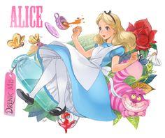 alice in wonderland disney - Google Search