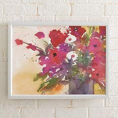 Amelia's Bouquet Artwork - Grandin Road
