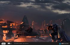 ArtStation - ILM Art Department - The Moment , Pablo Dominguez