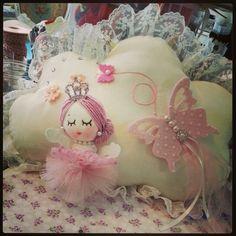 Little girl pillow