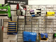 New collection #Freitag bags