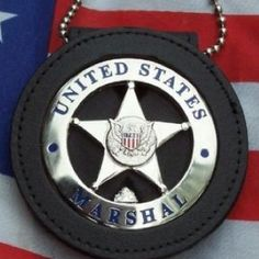 US Marshal's Badge. Kind of want to be a marshal someday