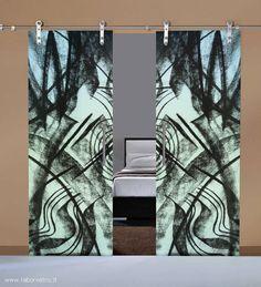 Sliding Glass Door, Glass Doors, Sliding Doors, Spider Glass, Living Room Modern, Stained Glass Windows, Ceiling Design, Door Design, Barn Doors