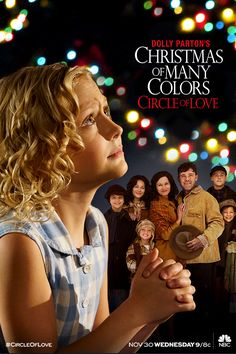 When you have family, you have hope! Dolly Parton's Christmas of Many Colors: #CircleofLove comes to NBC Wednesday, November 30 at 9/8c.