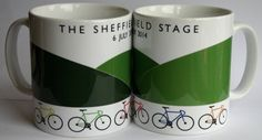 The Sheffield Stage  Celebrating the stage finish of the 2nd stage of the 2014 Tour de France in Sheffield with 3 of Sheffield's famous 7 hills! £6.50