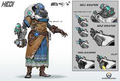 ArtStation - Overwatch fanart updates, Rock D