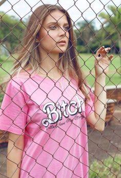 T-shirt Bitch, betterhavemymoney - ZIOVARA