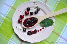 Dulceata de visine cu cirese savori urbane (16) Panna Cotta, Cherry, Pudding, Fruit, Ethnic Recipes, Gem, Desserts, Food, Canning