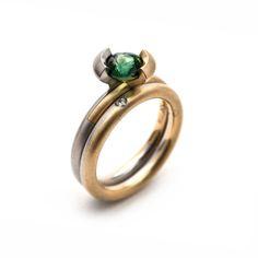 Ring by Cinnamon Lee, Australian sapphire, Australian diamond. Rare Earth: Australian Made http://courtesyoftheartist.com.au/blogs/articles/rare-earth-australian-made-2016