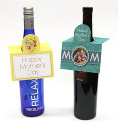Want to give Mom something with handmade flair for Mother's Day? Kodak TPX has some really cute printables to make your gift for Mom super special.   These hanging gift tags will really dress up a bottle of wine or perfume, and can be made on your ink jet printer.