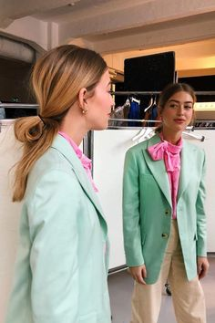 Gen Z yellow, lovely lavender, lime—this season's color trends are best worn together. See how I'm tackling the color clashing trend. Nyfw Style, Style Me, Fashion Line, Look Fashion, Street Fashion, Colourful Outfits, Colorful Fashion, Classic Outfits, Cool Outfits