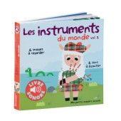 Livre Imagier sonore instruments du monde 2