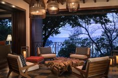 Meyer Davis — Four Seasons Papagayo Peninsula Papagayo, Outdoor Spaces, Outdoor Decor, Having A Blast, Four Seasons, Outdoor Furniture Sets, Room, Beautiful, Instagram