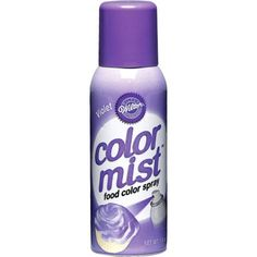 Coat any frosted dessert in red with this Wilton Red Color Mist! Spray bottle contains of food color spray. Horse Party Supplies, Diy Party Supplies, Cupcake Supplies, Baking Supplies, Cupcake Ideas, Purple Party Foods, Wilton Color Mist, Purple Cupcakes, Halloween Ball