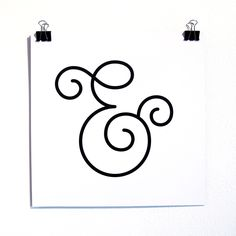 Ampersand - who doesn't love an the et connection. Handwritten Typography, Typography Quotes, Typography Inspiration, Typography Letters, Hand Lettering, Design Inspiration, Creative Lettering, Ampersand Sign, Alphabet