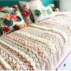 Gehaakte deken met Zeeman wol