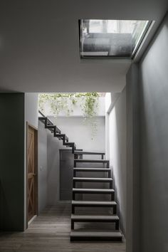 Image 8 of 28 from gallery of The Adventure of the Light / HAO Design. Photograph by Joey Liu Loft Staircase, Stairs, Staircases, Staircase Ideas, Basement Entrance, Interior Architecture, Interior Design, Patio, Home Renovation