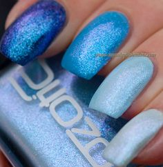 Ozotic 903 'Ombre' mani creation by My Nail Polish On-line!  OMG & WOW stunning!