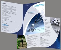 #Beautifully designed Bi-Fold #Brochure design by professional as well as #experienceddesigners, just at a minimum rate of $100 only. To know more, visit us at www.brochure-design-india.com