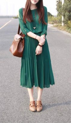 2013 spring new retro art the small fresh Chiffon waist strapless high waist pleated sleeve dress dress