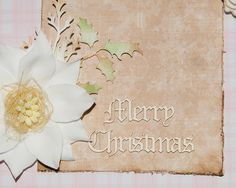 Merry Christmas 1 - set of 2 Laser cut chipboard Embossing Powder, Chipboard, Laser Cutting, Merry Christmas, Shapes, Painting, Decor, Merry Little Christmas, Decoration