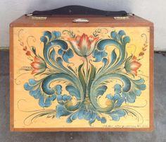 My small portable pochade box for plein air painting.