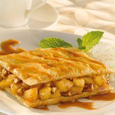 Pepperidge Farm® Puff Pastry: Caramel Apple & Pecan Napoleons