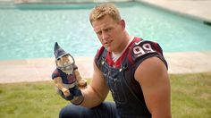 JJ Watt Funniest Commercial Compilation