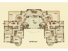 Bed and breakfast inn chateau case e interior design for Bed and breakfast house plans
