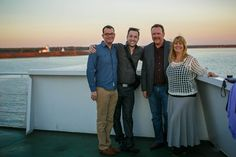 Nothing like a sunset cruise before dinner! - Chef on Board Top Chef Canada, Waiting For Next Year, 3 Course Meals, New Brunswick, Nova Scotia, Maine, Cruise, Sunset, Dinner
