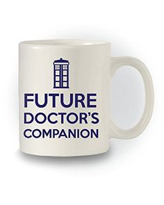 Doctor Who Inspired 'Future Doctor's Companion' Mug Mad Hatters Tee Party http://www.amazon.co.uk/dp/B00O93B8H8/ref=cm_sw_r_pi_dp_G4.Pub17HBXDV